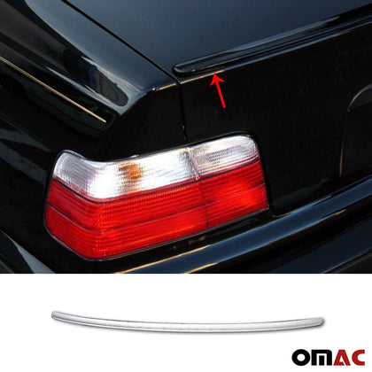 Rear Trunk Spoiler Top Wing Unpainted for BMW 3 Series E36 Sedan Wagon 1990-1998