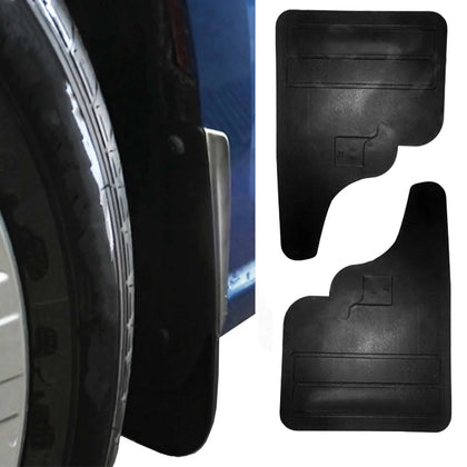 Front & Rear Mud Flaps Molded Splash Guards for Dodge MB Sprinter W906 2007-2018