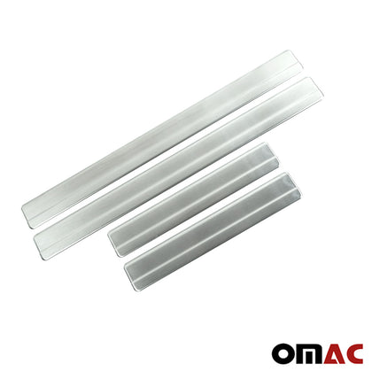 Chrome Door Sill Cover Scuff Plate Stainless Steel 4 Pcs for VW Amarok 2011-2019 Omac Shop Usa - Auto Accessories