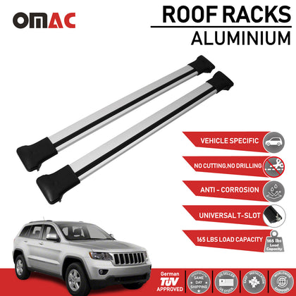 Roof Rack Cross Bars Luggage Carrier For Jeep Cherokee Limited 2011-2020