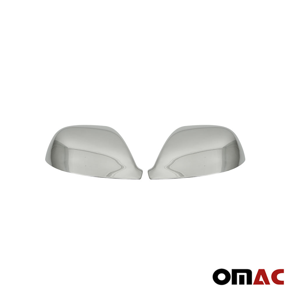 Fits VW Transporter 2010-2015 Chrome Side Mirror Cover Cap Stainless Steel 2 Pcs