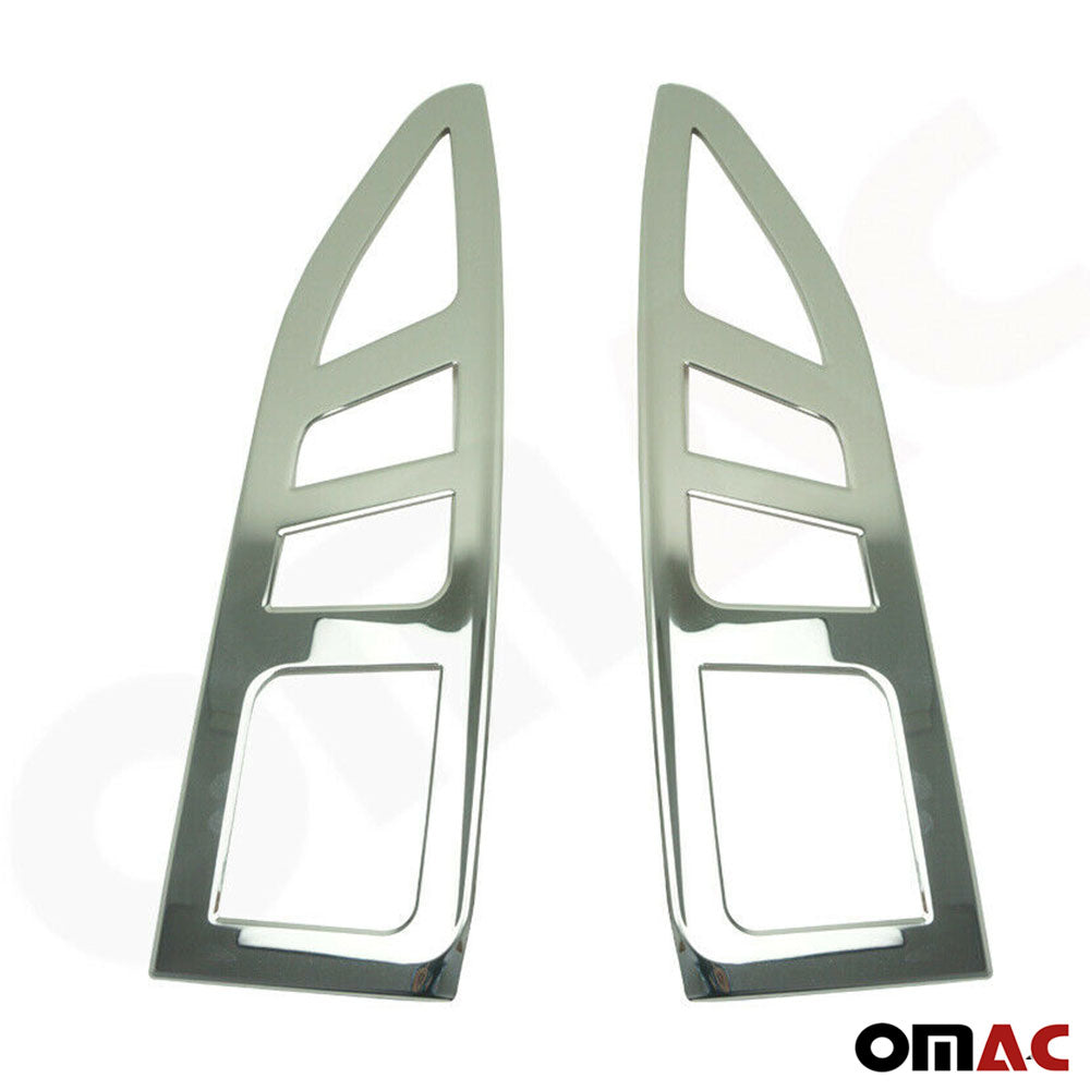Fits Citroën Berlingo 2008-2012 Chrome Brake Stop Light Frame S.Steel 2 Pcs