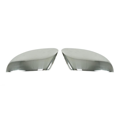 Fits VW Passat 2012-2015 Stainless Steel Chrome Side Mirror Cover Cap 2 Pcs