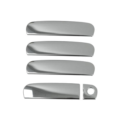 Fits Audi A3 1996-2003 Chrome Side Door Handle Cover Protector Trim Steel 5 Pcs Omac Shop Usa - Auto Accessories