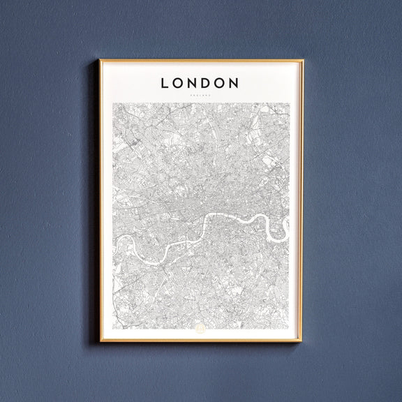London, England map poster
