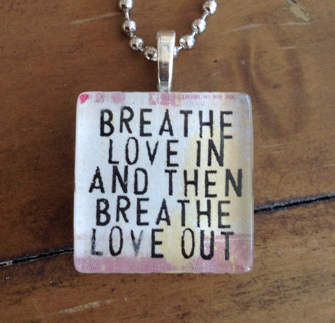 breathe love