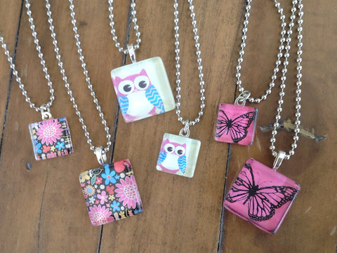 cute X2  ---  matching necklace set for little girls and their dolls
