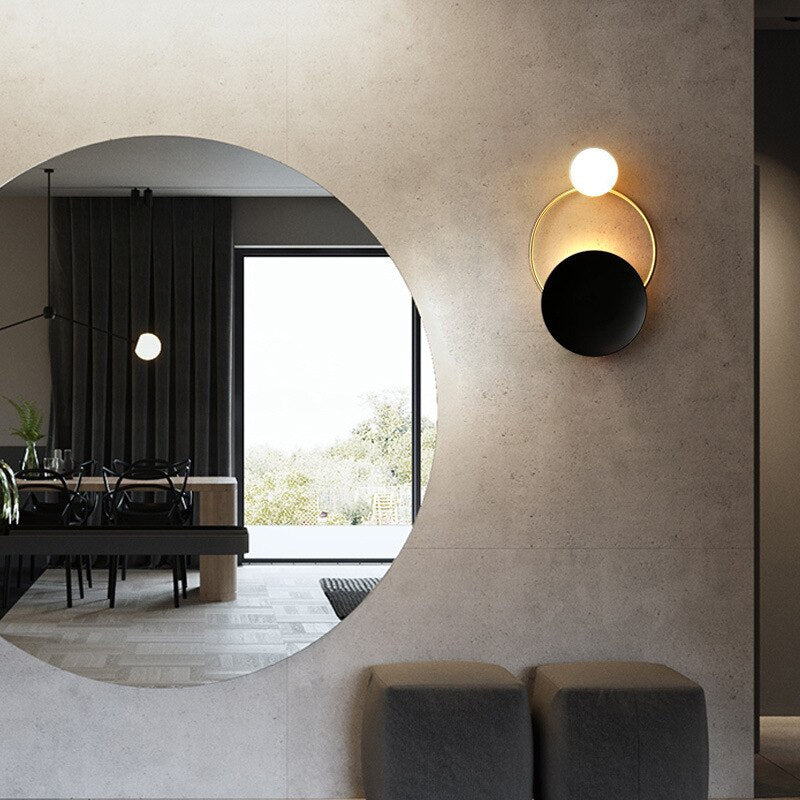 Soni Geometrical Modern Wall Light