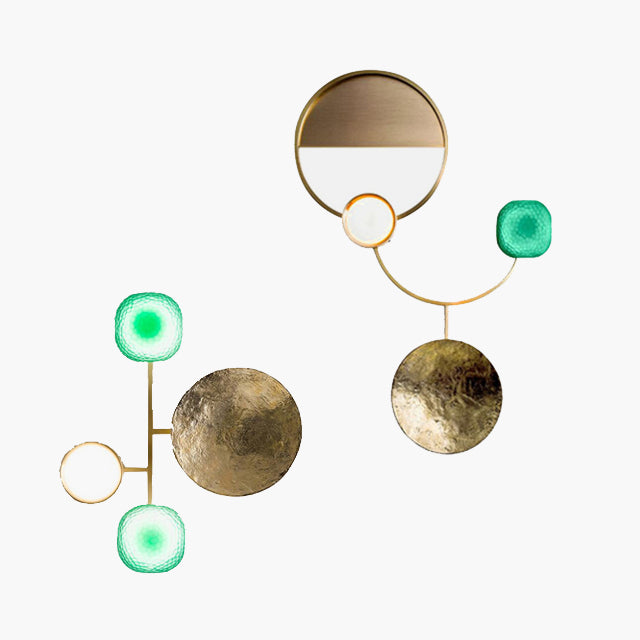 Eria Modern Brass Wall Light