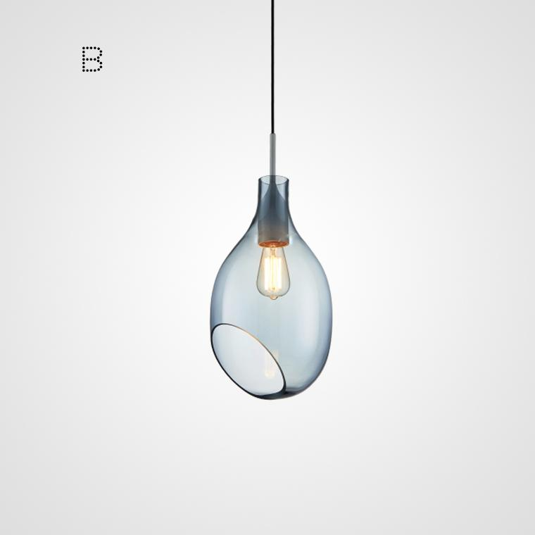 Marni Luxury Glass Pendant Light