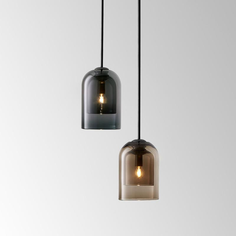 Liva Minimal Glass Pendant Light