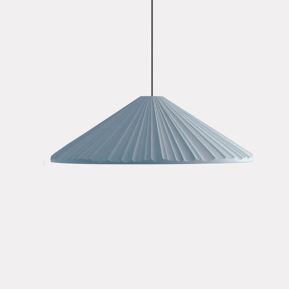 Signy Cone Pleated Pendant Light