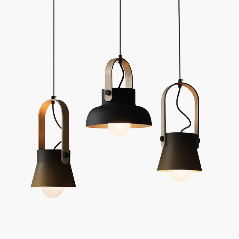 Pasi Wooden Nordic Pendant Light