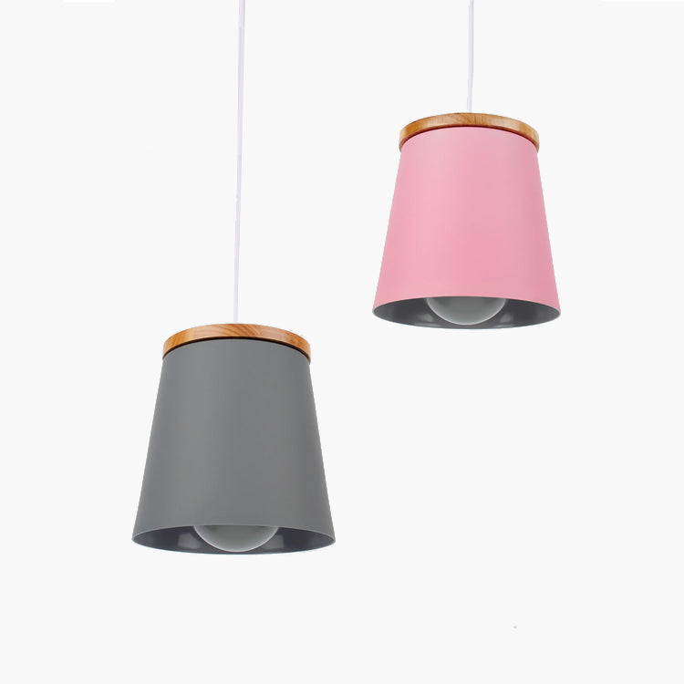 Tevy Nordic Wooden Pendant Light