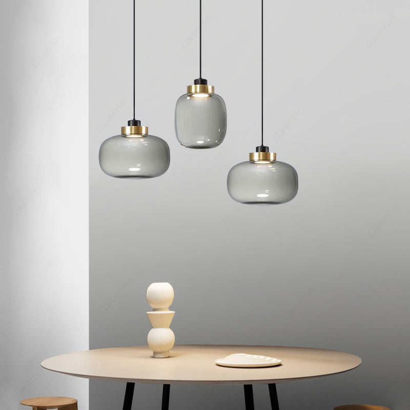 Greti Glass Minimal Pendant Light