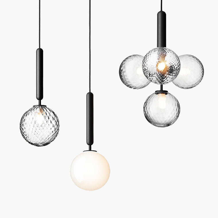 Finni Globe Glass Modern Pendant Light