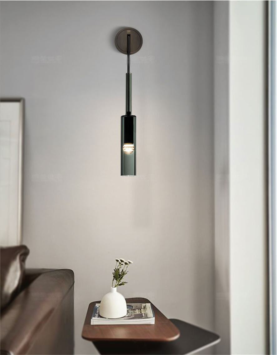 Odell Modern Glass Wall Light
