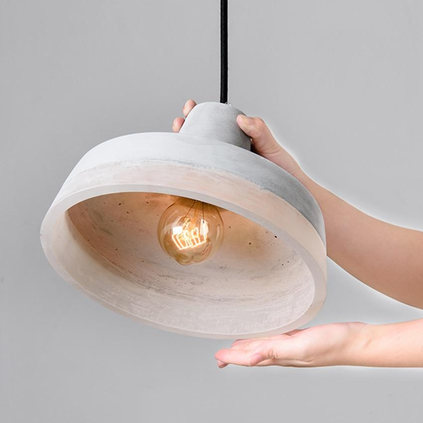 Inge Modern Cement Pendant Light