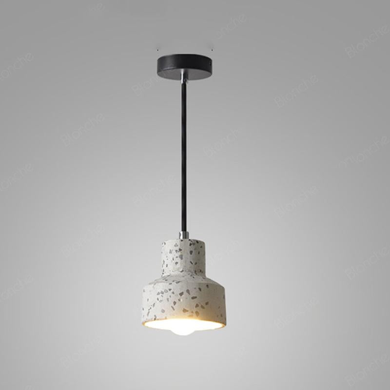 Kaja Cement Textured Pendant Light