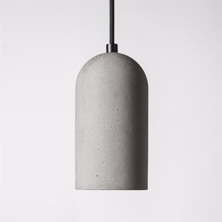 Bodil Cement Modern Pendant Light