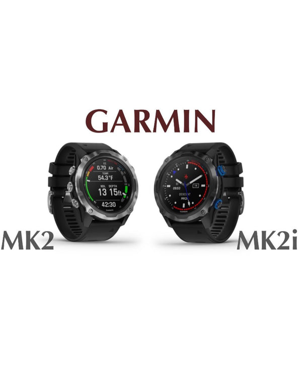 Garmin Descent Mk2 & Mk2i Dive Computers