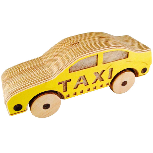 Chase -  Wooden Taxi Cab