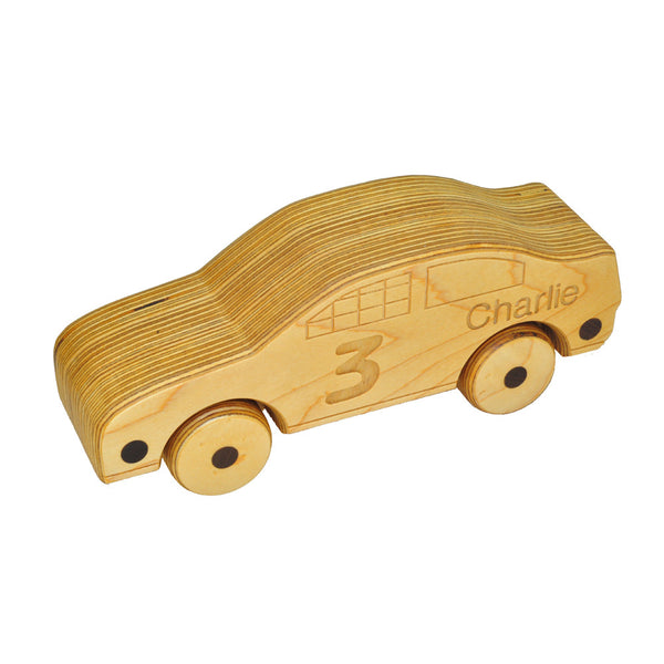 Jett - Wooden Race Car