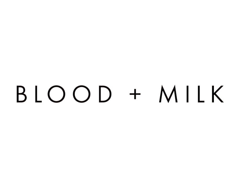 Blood and Milk Logo