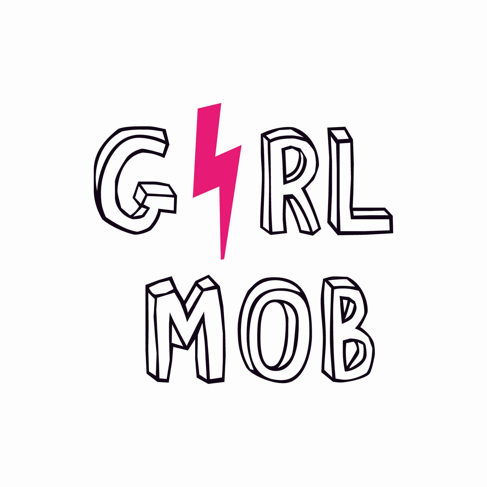 The GIRLMOB Logo