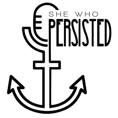 She who persisted Logo