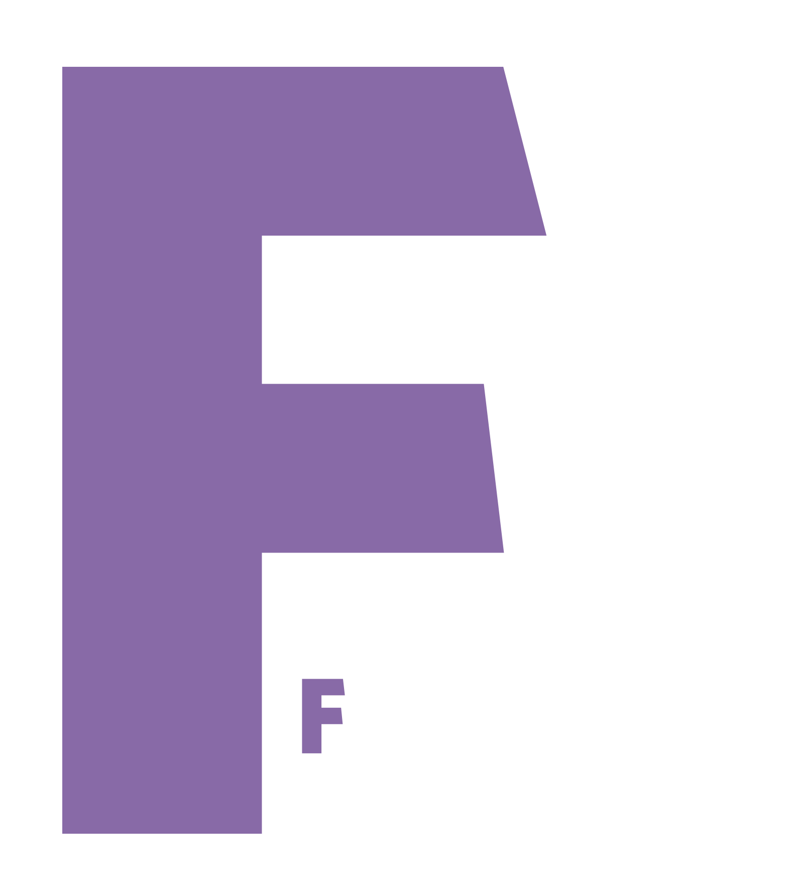 The Feminist Shop Logo White Full