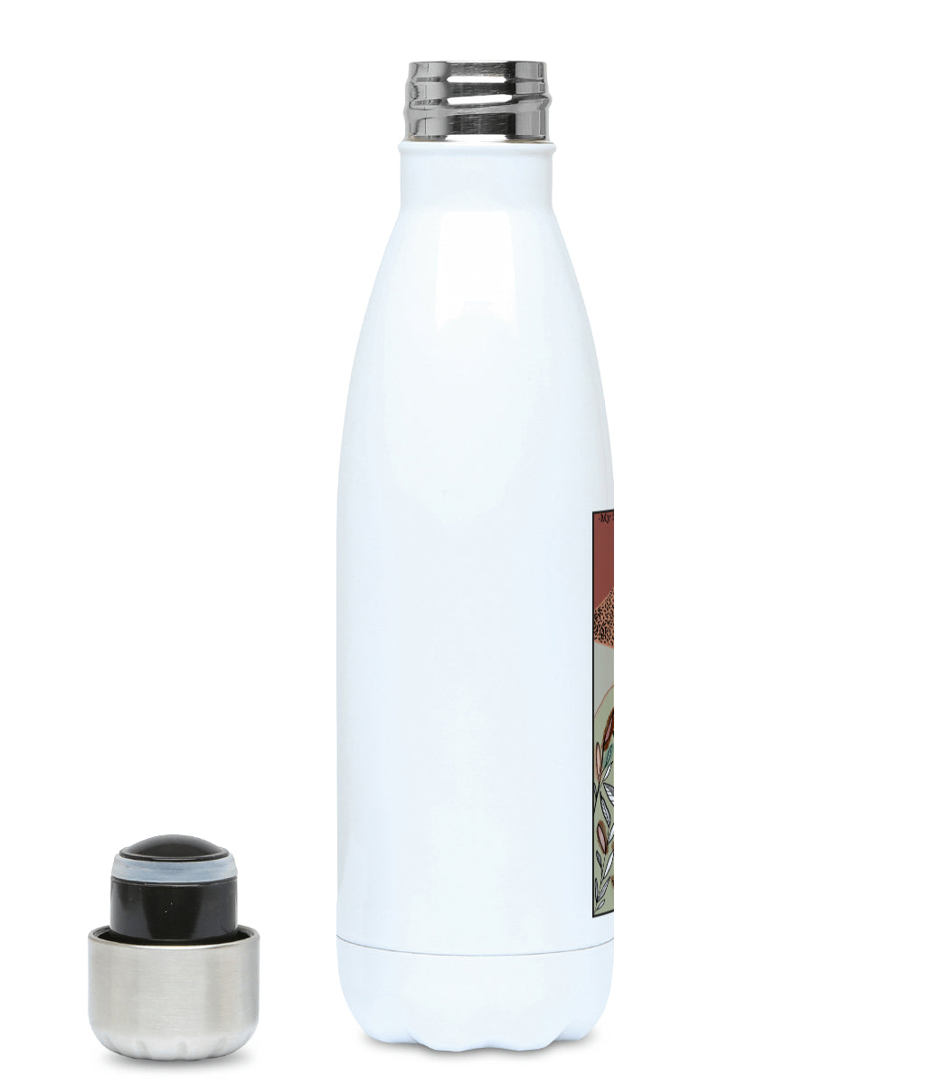 Feminist Water Bottle - F Elena  - Left
