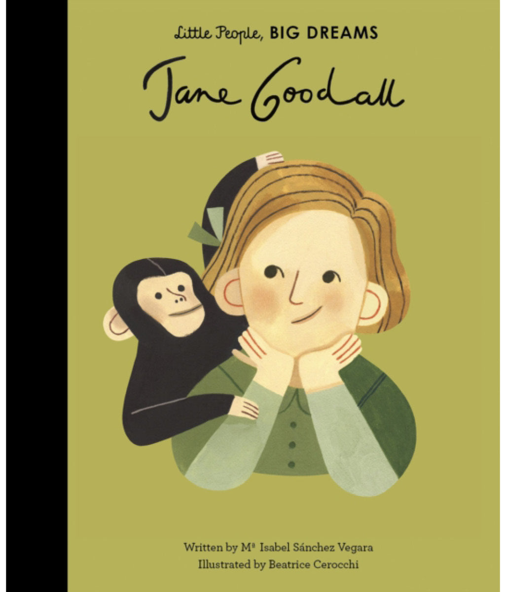 Jane Goodall by Maria Isabel Sanchez Vegara