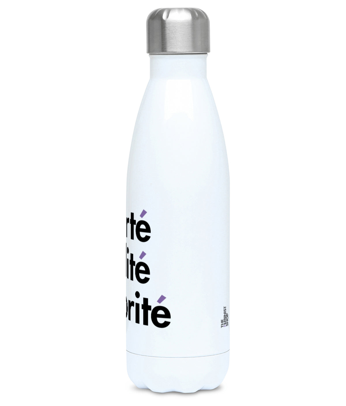 Feminist Water Bottle - Liberté Egalité Sororité - Right