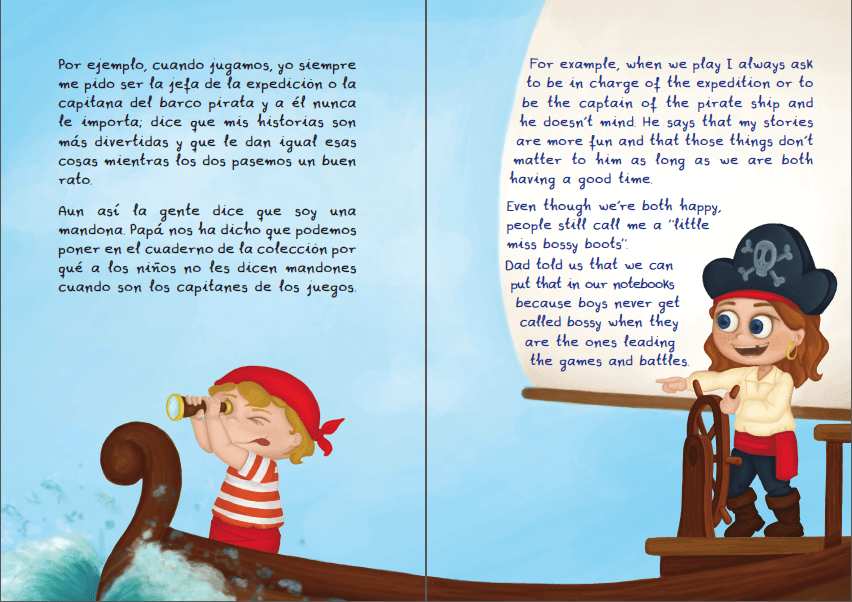 Mika & Lolo - The bilingual book challenging gender stereotypes