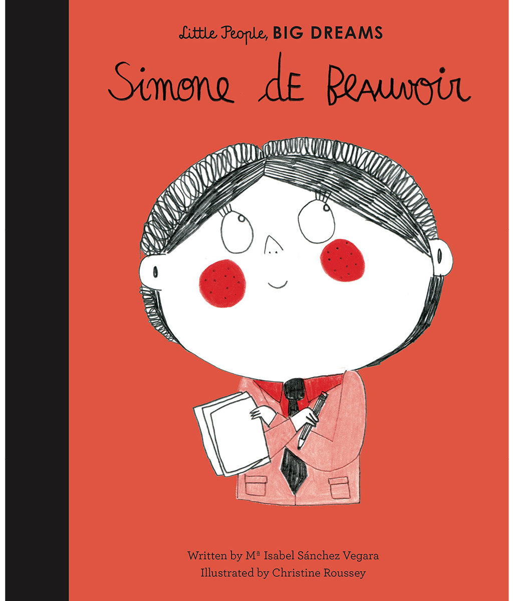 Simone de Beauvoir by Maria Isabel Sanchez Vegara