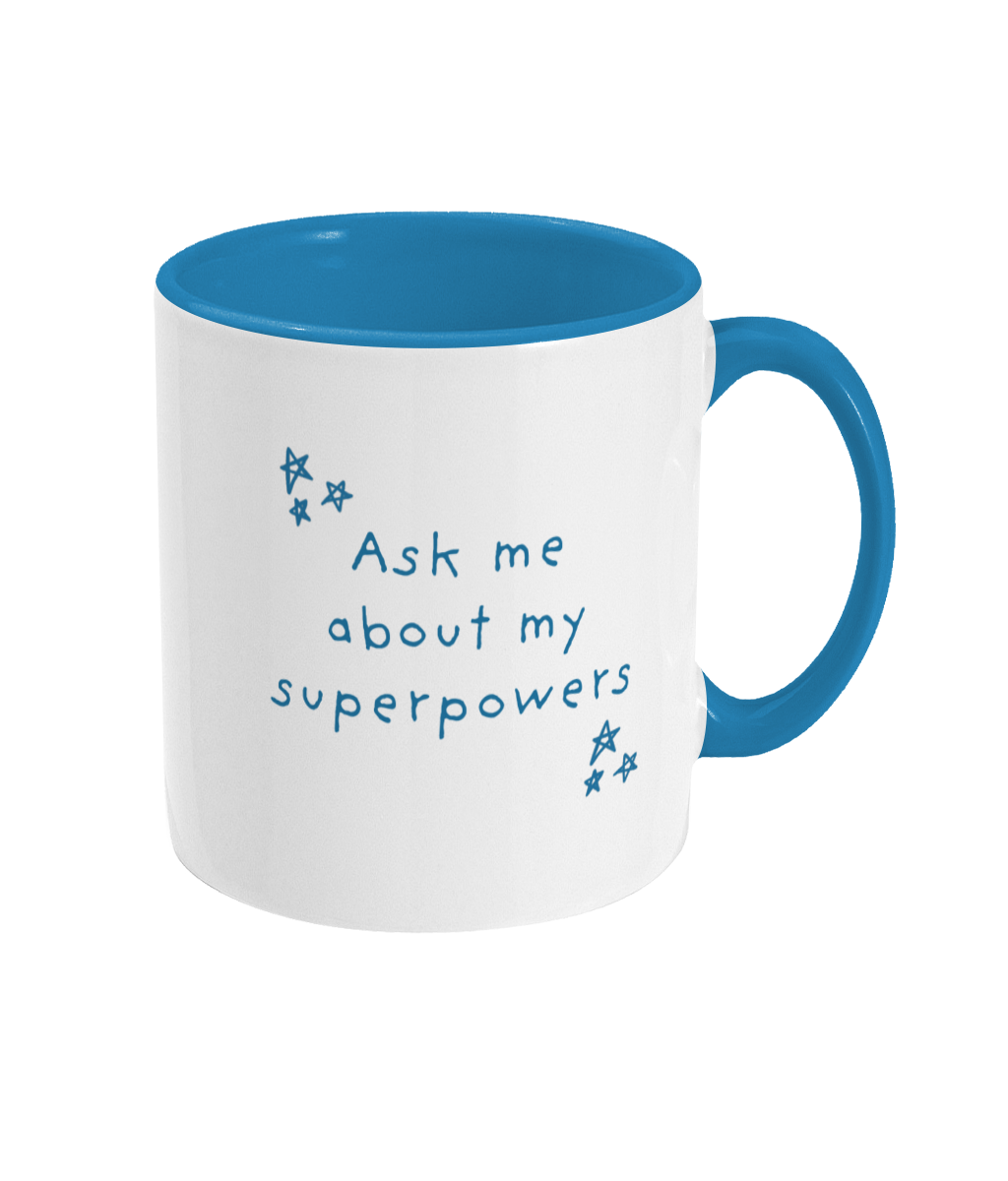 Super Hero Kids Mug - Mika