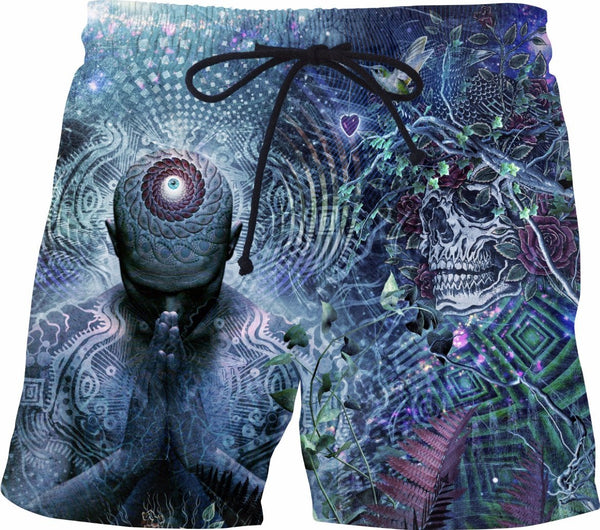Gratitude For The Earth and Sky - Swim Shorts