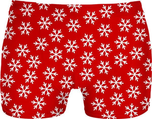 Snowflake Cheesecake Boys Christmas Underwear