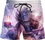 Perhaps The Dreams Are of Soulmates - Dragon Swim Shorts
