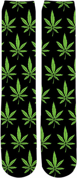 Weed Knee High Socks