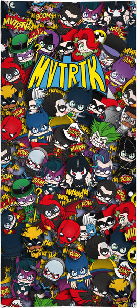 MVTRTK BATMANFAMILY Beach Towel
