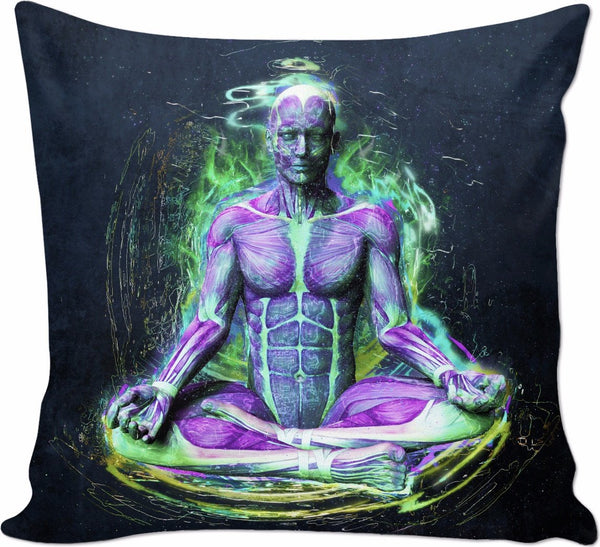 Hyperfuse Meditation - Couch Pillow
