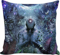 Gratitude For The Earth And Sky - Couch Pillow