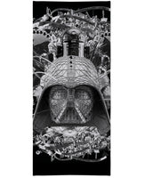 Digital Empire B&W Beach Towel