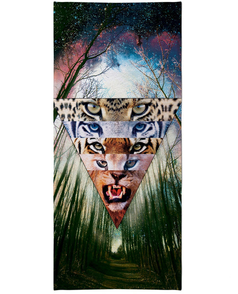 Wild Cats Beach Towel
