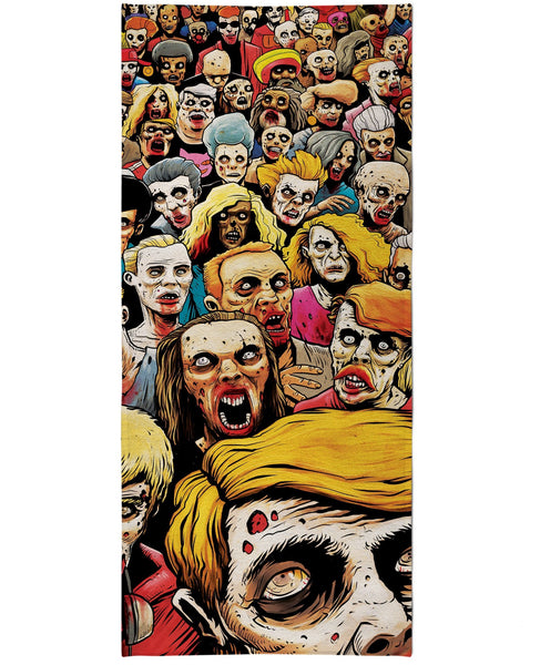 Zombies at the Mall Beach Towel