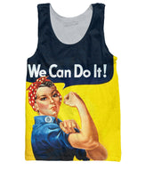 Rosie the Riveter Tank Top