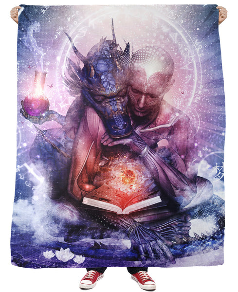 Perhaps the Dreams are of Soulmates Fleece Blanket
