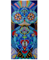 Guardian at the Gate Beach Towel